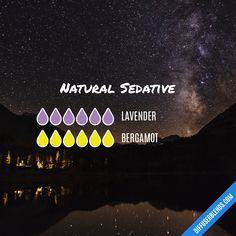 Natural Sedative — Essential Oil Diffuser Blend