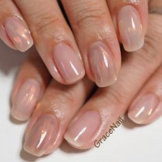 Pin on spring nail colors Pin on spring nail colors Pearl Nails, Crystal Nails, Minimalist Nails, Purple Nails, Nude Nails, Stylish Nails, Trendy Nails, Design Ongles Courts, Kawaii Nails