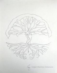 #Boceto, Arbol de la vida 1 / #Sketch, Tree of life 1 - 2014