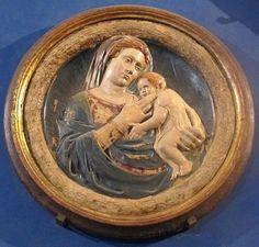 Michelozzo (cerchia) - Madonna col bambino - Museo Stefano Bardini - Firenze