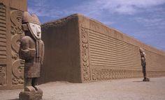 Caral (circa 3,114 BCE-3,000 BCE); Caral-Supe, Peru (America, southern continent)
