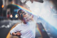 Brandon Woelfel Rainbow portait prism Now YOU Can Create Mind-Blowing Artistic Images With Top Secret Photography Tutorials With Step-By-Step Instructions! Tumblr Photography, Photography Tutorials, Light Photography, Creative Photography, Portrait Photography, Photography Ideas, Ft Tumblr, Brandon Woelfel, Fotografia Tutorial