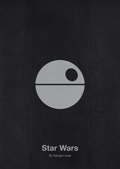 Star Wars Minimalist Movie Poster Design by Eder Rengifo