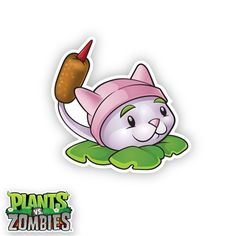 WALLS 360 wall graphics: Plants vs Zombies http://www.walls360.com/Cattail-p/9164.htm
