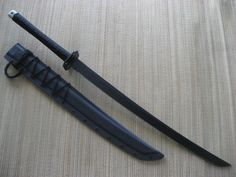 Miller Bros Blades Katana with Tsuba.  Custom Handmade Swords, Knives, Tomahawks/Axes & Machetes http://www.millerbrosblades.com/
