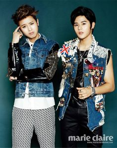 Hyung Sik, Min Woo - Marie Claire Magazine April Issue '14