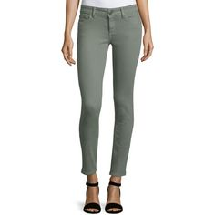 DL 1961 Premium Denim Angel Skinny Ankle Jeans ($178) ❤ liked on Polyvore featuring jeans, echo, dl1961 premium denim, fitted skinny jeans, skinny leg jeans, zipper skinny jeans and 5 pocket jeans
