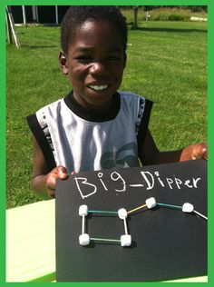 Do you have a child who is curious about stars? Here is a great activity to teach them about the stars by creating (an edible) big dipper.