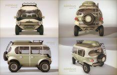 Nimbus™ e-Car - Future is calling / hemisferiocriativo.com