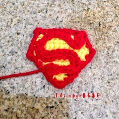 angie's blog: Superman Emblem Appliqué