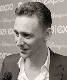 Never quit being a beautiful man, inside and out. Hiddles at the D23 Expo, CA, August 2013