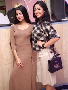 Ashnoor Kaur and Ritika badiani