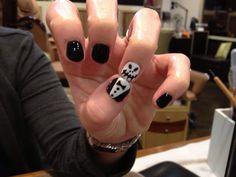Jack Skellington nails by Rhonda