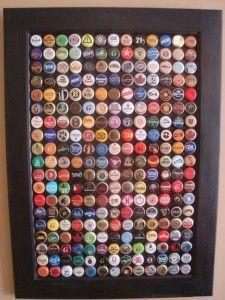 Come riciclare tappi delle vostre birre, 31 idee…