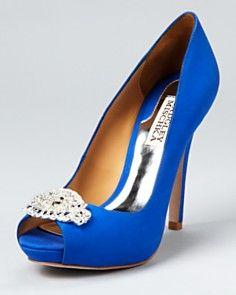 Badgley Mischka shoes #somethingblue