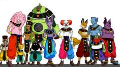 All 12 Gods of destruction revealed!!!