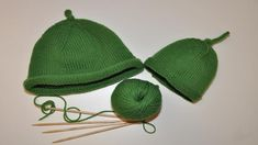 Knit your own Sarah and Duck hat using this simple free knitting pattern from CBeebies Grown-ups.