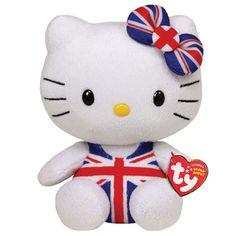3165a603d38 Hello Kitty Union Jack Swimsuit Plush Doll