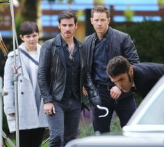 "Ginnifer Goodwin, Colin O'Donoghue, Sam Witwer and Josh Dallas - Behind the scenes - 6 * 1 ""The Savior"" - 12th July 2016"