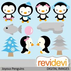 This clipart set features cute penguins. Great for winter themed projects.These cliparts are great for teachers and educators for creating their school and classroom projects such as for bulletin board, printable, worksheet, classroom decor, craft materials, activities and games, and for more educational and fun projects.You will receive:- Each clipart saved separately in PNG format, 300 dpi with transparent background.- Each clipart saved separately in JPG format, 300 dpi with white ...