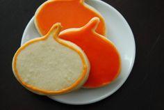 Pumpkin-Shaped Sugar Cookies - Yankee SmartassYankee Smartass