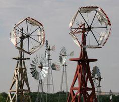 Windmill museum Lubbock, TX