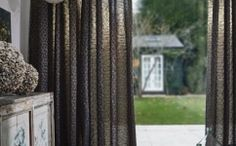 Discover 4 stylish ways to dress your windows this winter with the help of Interior Stylist Maxine Brady and Couture Living Dark Curtains, Ceiling Curtains, Plum Walls, Dark Walls, Scandi Home, Scandinavian Interior, Interior Stylist, Home Interior Design, Hygee Home