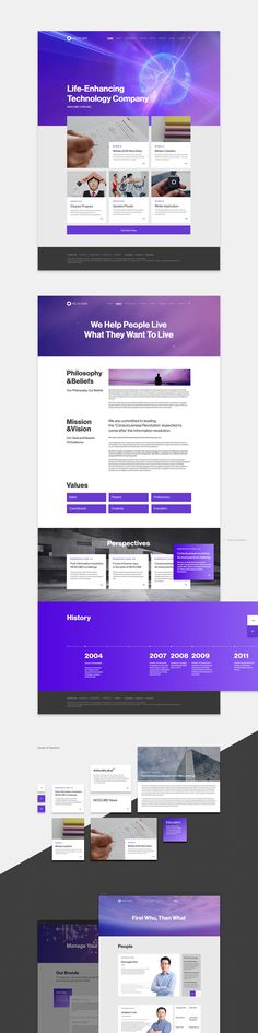 NEXCUBE | Branding & Website on Behance