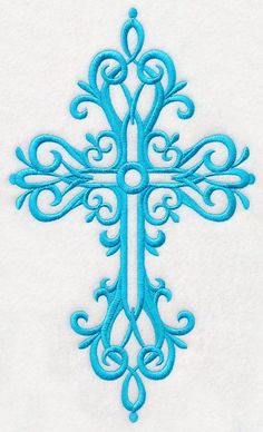 Cross in Filigree 1 design (M4309) from www.Emblibrary.com
