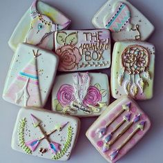Dreamcatcher Cookie // The Painted Box