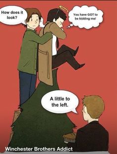How supernatural does Christmas!