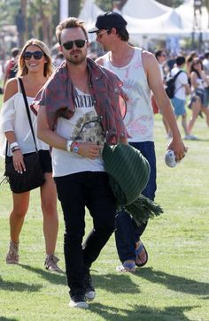 Brooklyn Beckham didn't want to miss a moment! The son of David and Victoria Beckham was spotted filming on his iPhone during the first day of the Coachella Music and Arts Festival on April 10, 2015.