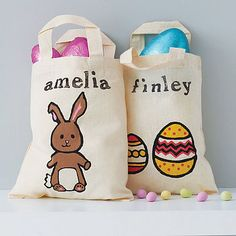 Great idea to use bags every year instead of buying baskets! I might have to do this next year!:)