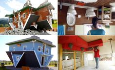 30 Most Amazing Upside Down Houses around the world. Follow us www.pinterest.com/webneel/funny-neel-com