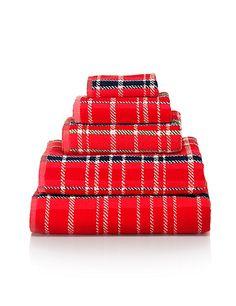 Marks & Spencer tartan towels £3.50 - £25