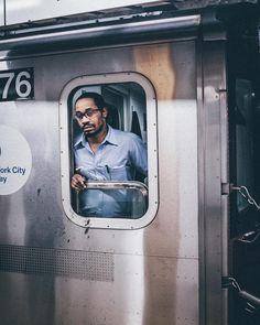Underground portraits. | #nycsubway by monaris_