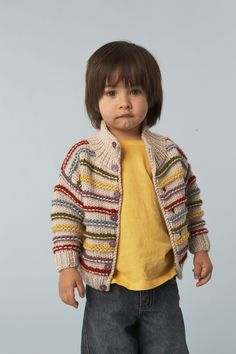 Standout Stripes Cardigan (Knit)