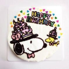 スヌーピーケーキ☆ - 19件のもぐもぐ - 誕生日 by Naomi