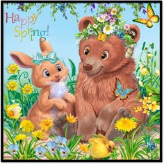 happy spring by groen on Polyvore featuring arte