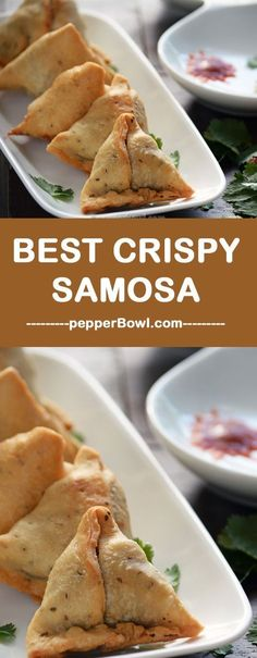 This Recipe of Samosa yields crispy, soft and crunchy in texture and very spicy in taste. Super perfect for evening. | http://pepperbowl.com via /pepperbowl/