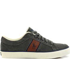 Ralph Lauren Heren Schoenen Bolingbrook Grijs - Heren - Onlinesneakershop.nl   De leukste online schoenenwinkel van Nederland!