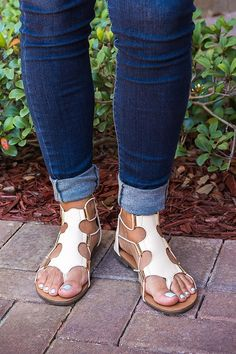 8a7785d6963 Stretch Gladiator Sandals
