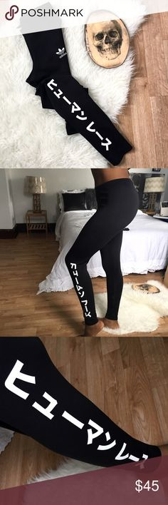 """Adidas x Pharrell Leggings New With Tags ____________________ Please Read """"All You Need To Know"""" Post ____________________ No Trades, Don't Ask ____________________ Reasonable Offer Welcome   ____________________ MOST Prices Under $10 Are Firm, Understand Posh Fees adidas Pants Leggings"""