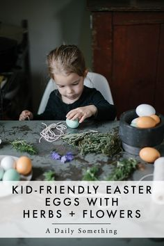 Decorate wooden eggs