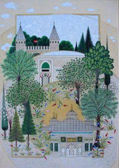 FAtma Zehra Aktaş.....3.cü AHmet çeşmrsi...TOpkapı sarayı girişi  minyatürü