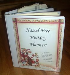 Mommy Blessings: Organize the Holidays!
