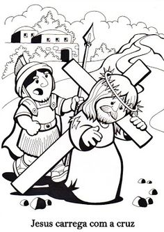 coloring page for Holy Week Sunday School Activities, Bible Activities, Easter Activities, Sunday School Crafts, Bible Story Crafts, Bible Stories, Bible Coloring Pages, Coloring Pages For Kids, Religion Catolica