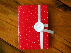 Personal journal red notebook hand bound with by Newleafjournals