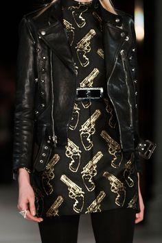 lesbeehive:  Les Beehive – Givenchy and Saint Laurent at Paris Fashion Week Fall 2014