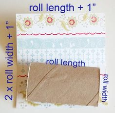 toilet paper roll mini album